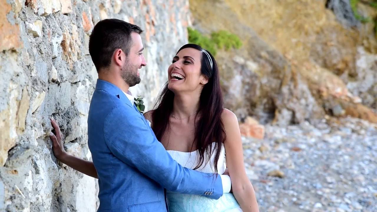 Auguri Matrimonio Greco : Trailer francesco roberta wedding day in paros island