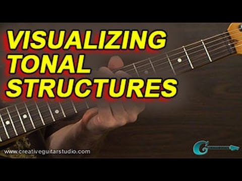 GUITAR THEORY: Tonal Structure Visualization
