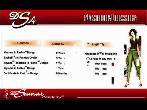 Career In Fashion Designing Dress Designing Youtube