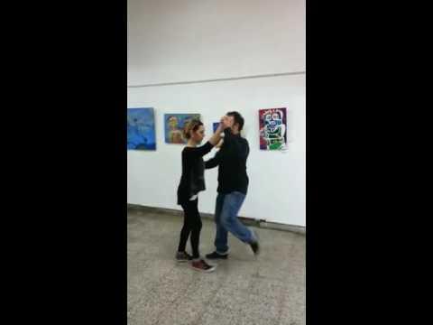 Clase de salsa; profesor Hernan Duran