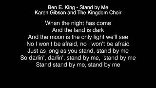 Baixar Karen Gibson and The Kingdom Choir - Stand by Me Lyrics (Ben E  King) The Royal Wedding