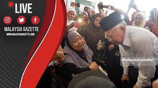 MGTV LIVE : Najib Razak Hadir Beri Penghormatan Terakhir Kepada Allahyarham Abam Bocey