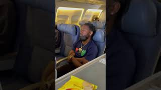 Kountry Wayne - When you wake up on a plane and realize you missed the snacks!