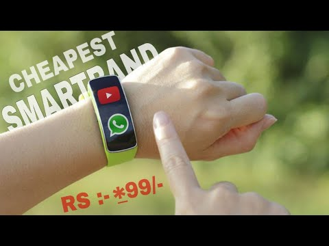 Cheap And Best Smartband You Can Buy On Amazon