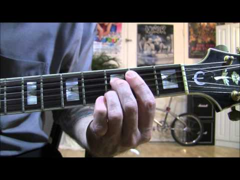 How to play T-Bone Walker's signature intros..