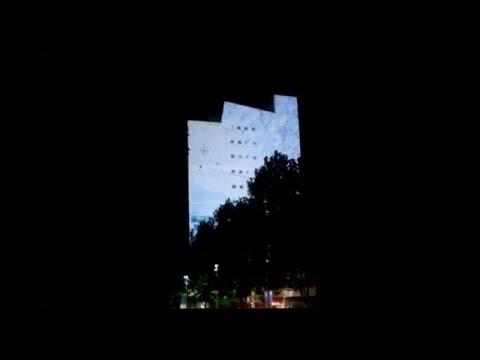 White Night 2016 Melbourne Australia –  CGI Building Façade