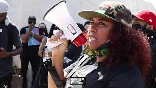 BLACK LIVES MATTER PROTEST @ BLACK LIVES MATTER PLAZA (DC)