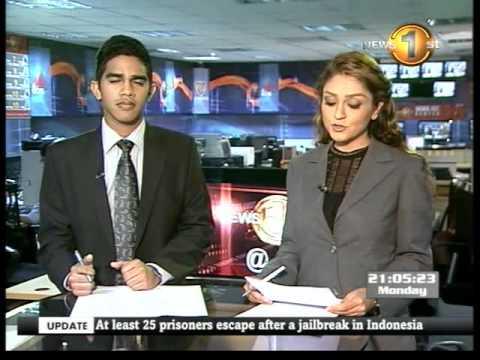 mtv 9pm news 03 19082013 Prof. Peiris calls on Indian Prime Minister