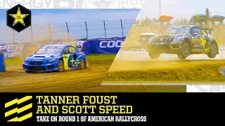Tanner Foust and Scott Speed take on Round 1 of American...
