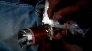 Test đèn led pha  màu cho xe máy