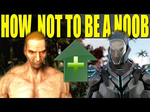 BEST WAY TO LEVEL (HOW NOT TO BE A NOOB/HOW TO!)(outdated) - ARK: SURVIVAL EVOLVED