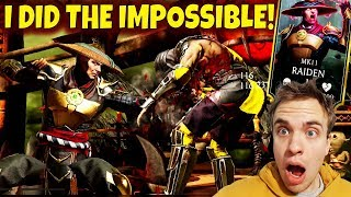 Mortal Kombat Mobile. Unlocking MK11 Raiden From Trial. Rage and EPIC Wins with Raiden Only.