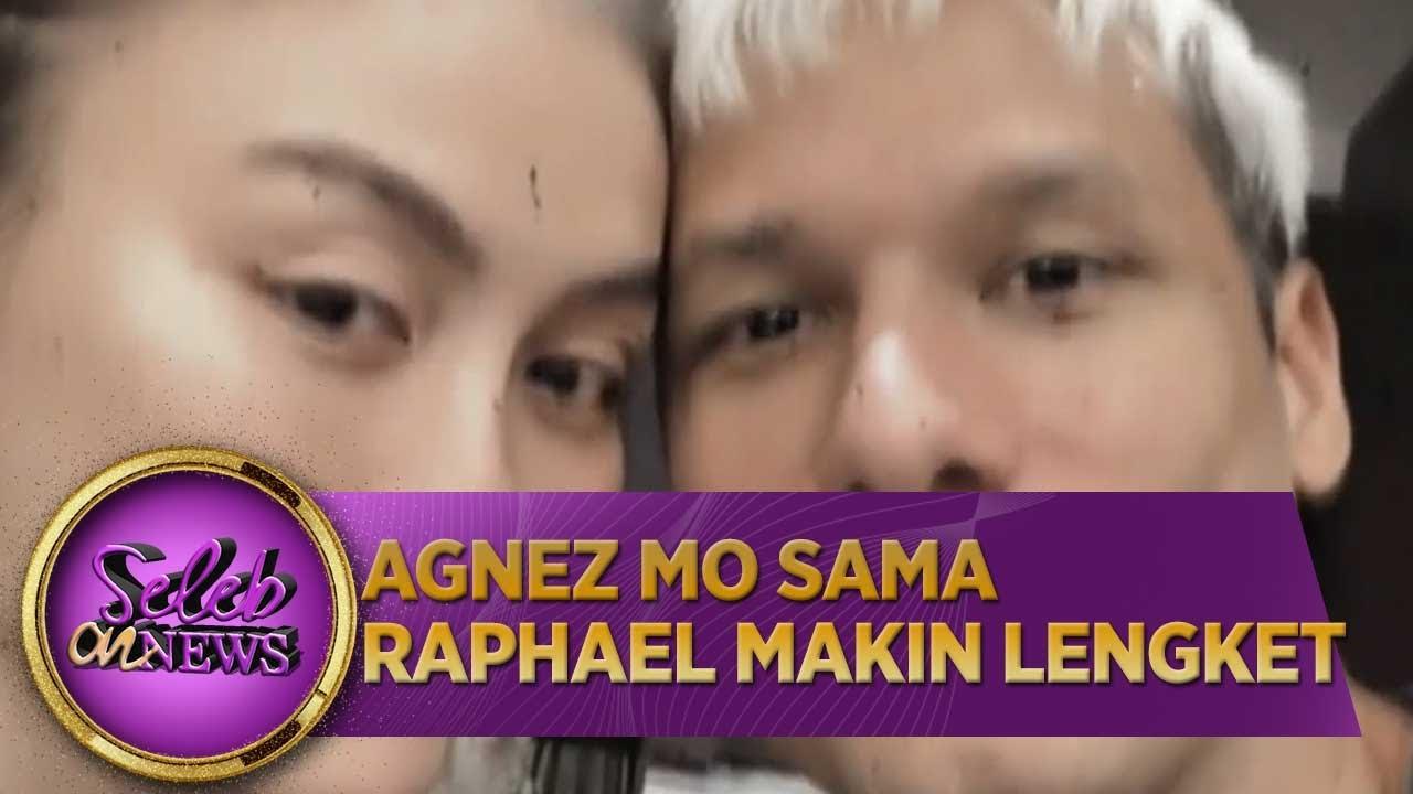 Agnez mo Sama  Raphael Makin Lengket Aja - Seleb on News (1/7)