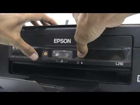 Epson L210 Test Print