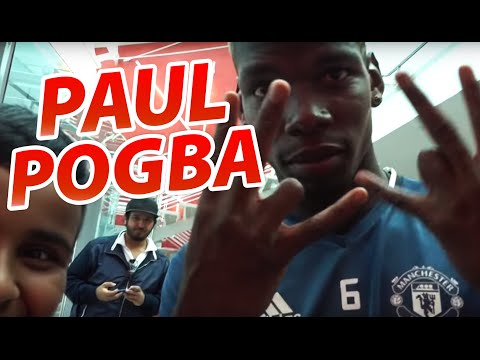 POGBA GAVE ME HIS SHOES!!!