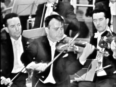 Henryk Szeryng - (high quality) Brahms Violin Concerto Mvt I (2 of 2)