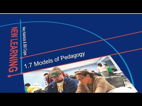 1.7 Models of Pedagogy