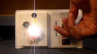 Schott-Fostec DCR-II DDL Fiber Optic Light Source Microscope Illuminator