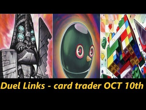 DUEL LINKS   ROCKS, GOLEMS AND AZTEC RUINS BREAK THEIR WAY INTO THE CARD TRADER