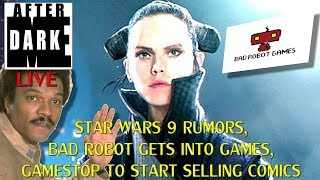 Bad Robot getting into games, Gamestop to sell Comics -  Midnight's Edge After Dark LIVE