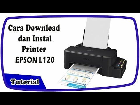 Cara install dan download driver printer epson L120.