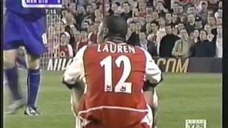 Arsenal vs Manchester United-Premier League 2003-Full match-English audio.