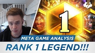RANK 1 LEGEND! (Meta Game Analysis) [Hearthstone]