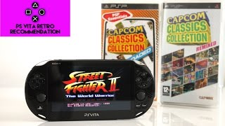 Capcom Classics Collections - PS Vita Retro Recommendations