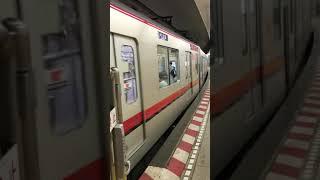 東武70000系71712F中目黒行き恵比寿駅発車