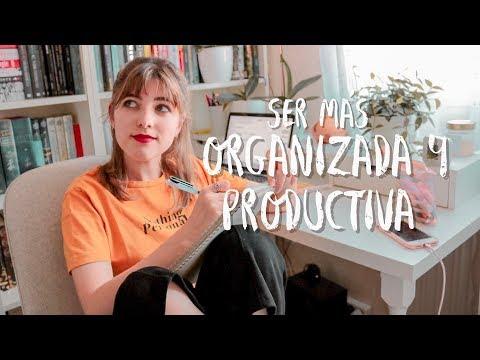 CÓMO ME ORGANIZO PARA SER PRODUCTIVA |  Aprovechar El Tiempo