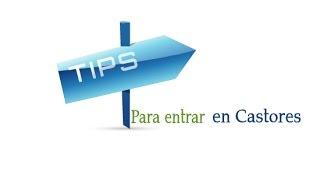 Tips para los que quieren entrar en Castores