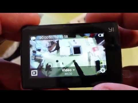 Экшн-камера Xiaomi YI 2 4K International ► Посылка из Китая / AliExpress