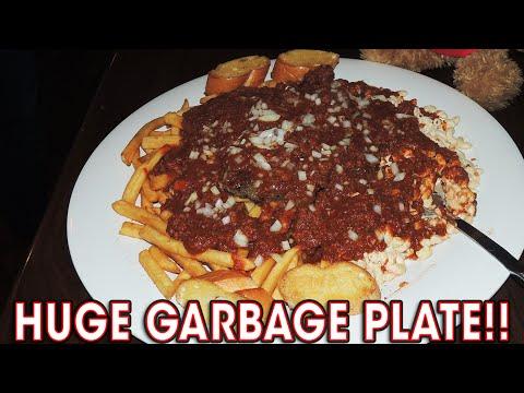 HUGE GARBAGE PLATE Challenge in Charlotte!!