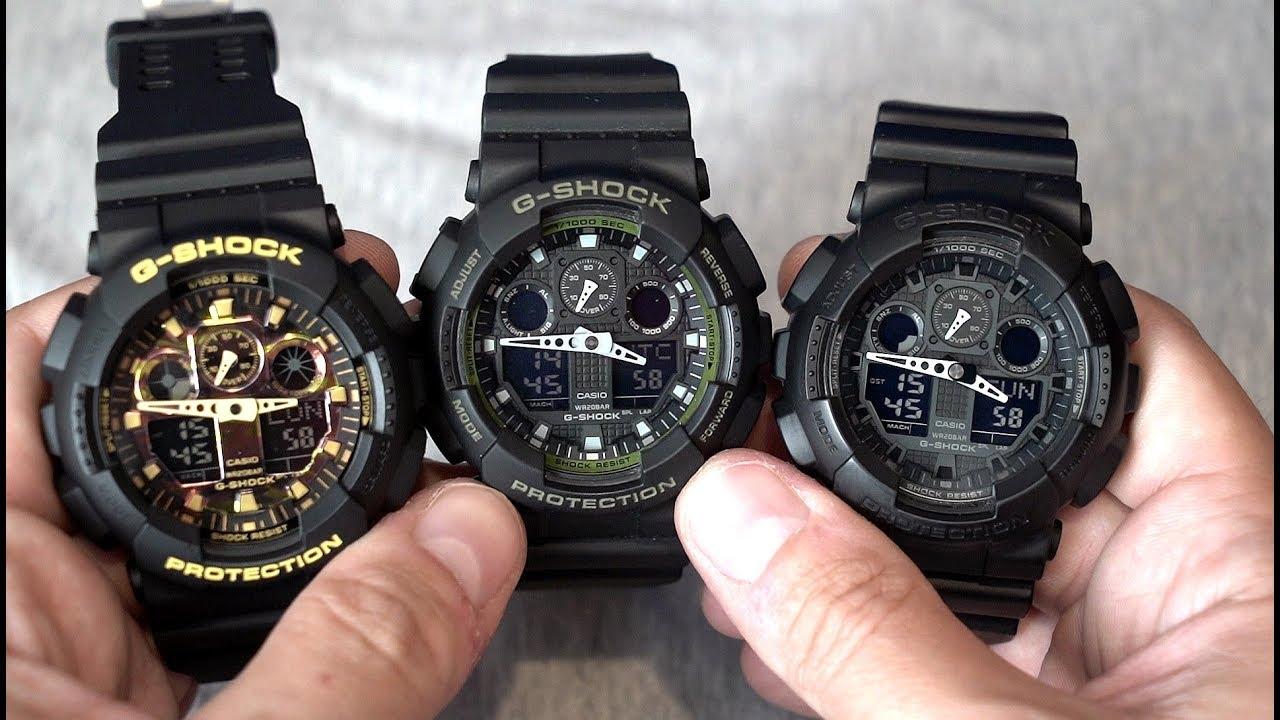 fce67854dc7b Fake Casio G-Shock GA-100 from Amazon! GA-100CF-1A9ER - Beware ...