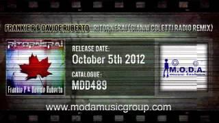 Frankie P & Davide Ruberto - Ritornerai (Gianni Coletti Radio Remix)