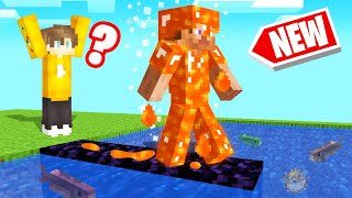 NEW *LAVA* ARMOR In MINECRAFT! (Insane)
