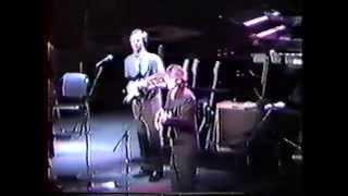 George Harrison with Eric Clapton Osaka Castle Hall, Osaka Japan 19...