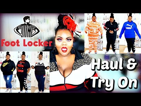 Footlocker Plus Size Sweatsuits, Tees, and Hoodies Try On Haul | NIKE | JORDAN |Champion | FILA