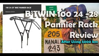 B TWIN 100 Pannier Rack Review | After Using 5000 Km | Malayalam