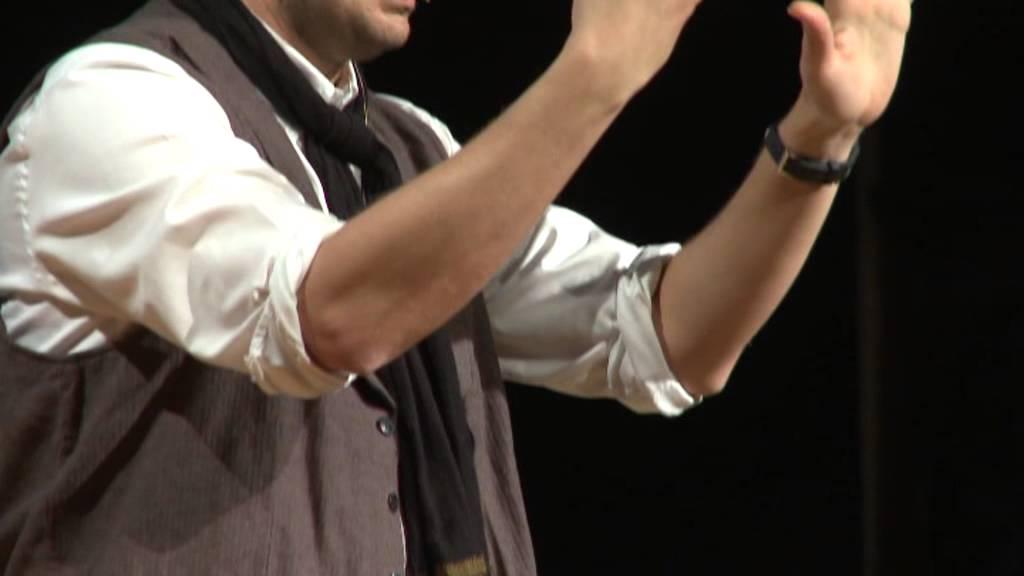 Beyin ve Mucize! Arka Plan: Kubilay QB Tunçer at TEDxReset 2010