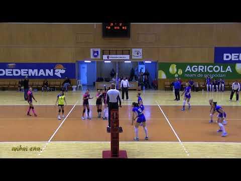 """REZUMAT VIDEO: CS Stiinta Bacau - CS """"U"""" NTT Data Cluj, scor 3-0"""