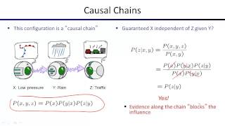 Lecture 17: Bayes Nets II