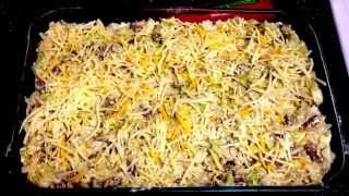 Cheesy Sausage & Cabbage Casserole - Comfort Food! Ww 4 Points Plus!