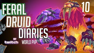Feral Druid | 8.2 World PVP  | Just Keep on Kiting!