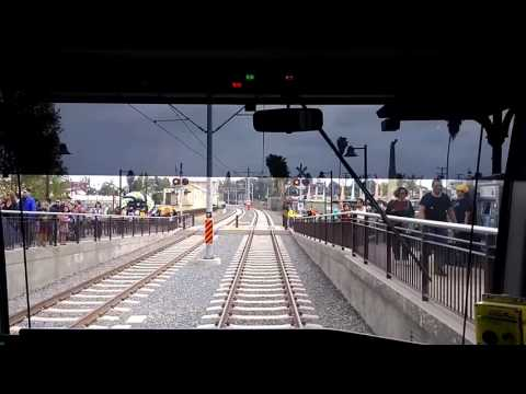 Foothill Gold Line - Time Lapse Video
