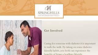 Spring hills signature wellness presentation - diabetes