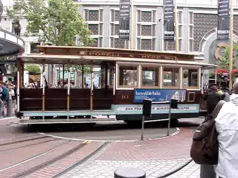 Cable Car, Powell St.