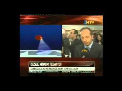 NTV Haberler - Sesle Myom Tedavi - 07.04.2011