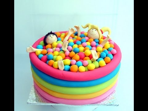 Ball Pool Cake - Youtube