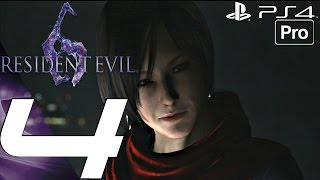 Repeat youtube video Resident Evil 6 (PS4) - Gameplay Walkthrough Part 4 - Carla Boss Fight (Ada) [1080P 60FPS]